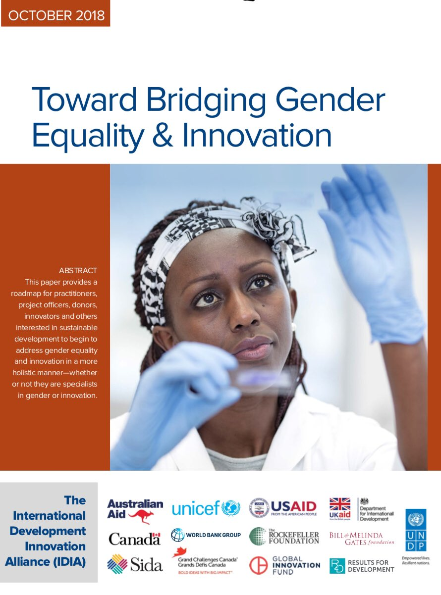 Andrew Tarter - Gender and Innovation in International Development Report
